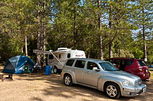 Site 14, Yosemite Pines Campground