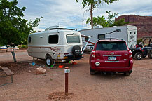 Site 42, Arch View Campground, UT
