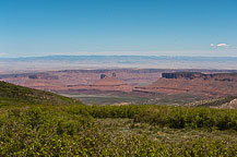 View From the La Sal Loop Road