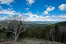 View of the Sawtooth Mountains From Galena Summit, ID 75