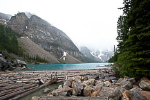 Site 50, Lake Louise Campground, AB