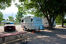 Site M2, A. B. Camping RV Park