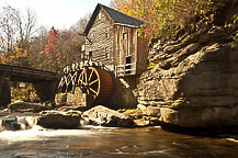 Glade Creek Mill, Babcock State Park, WV
