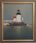 Jocelyn Vermilye Painting of Brant Point Lighthouse