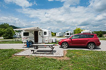 Cave Country RV Campground, Site 16, Cave City, KY