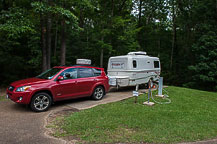 Site 46, Campground B, Natchez State Park, Natchez, MS