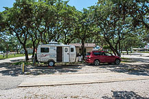 Site 0, Roadrunner RV Park, Johnson City, TX
