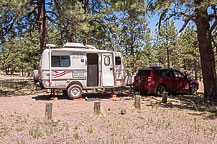 Site 14, Luna Lake Campground, AZ