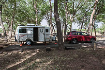 Site 55, Canyon de Chelly Campground, AZ