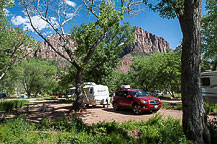 Site 47, South Campground, Zion National Park
