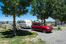Site 40, Mono Vista RV Park, Lee Vining, CA