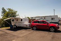 Site 17, Rivers Edge RV Park, Coquille, OR