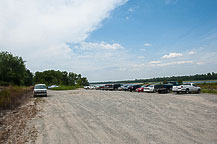 The Boat Ramp Parking Lot