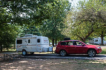 Site 84, Kentucky Horse Park Campground
