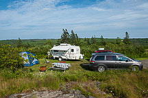 Site 9, Whale Cove Campground