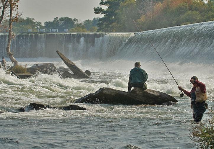 река кан рыбная ловля