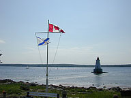 Sandy Point Light, Canada