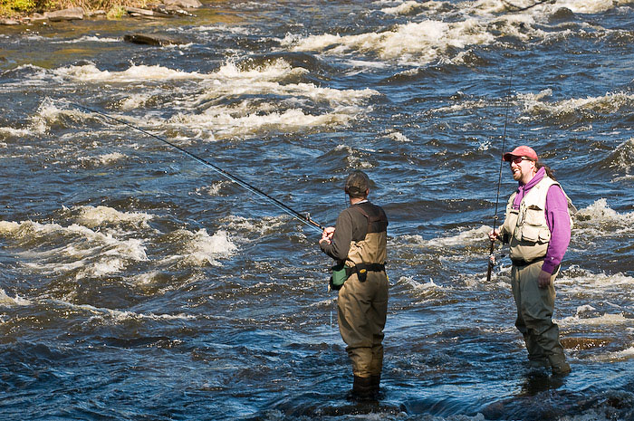 Salmon river falls 2008 for Best time for salmon fishing in pulaski ny