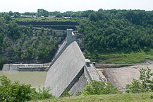 Mt Morris Flood Control Dam