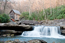 The Grist Mill at Babcock State Park, West Virginia