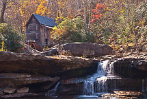 Glade Creek Grist Mill, Babcock State Park, WV