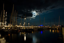 Nantucket Dock at Night